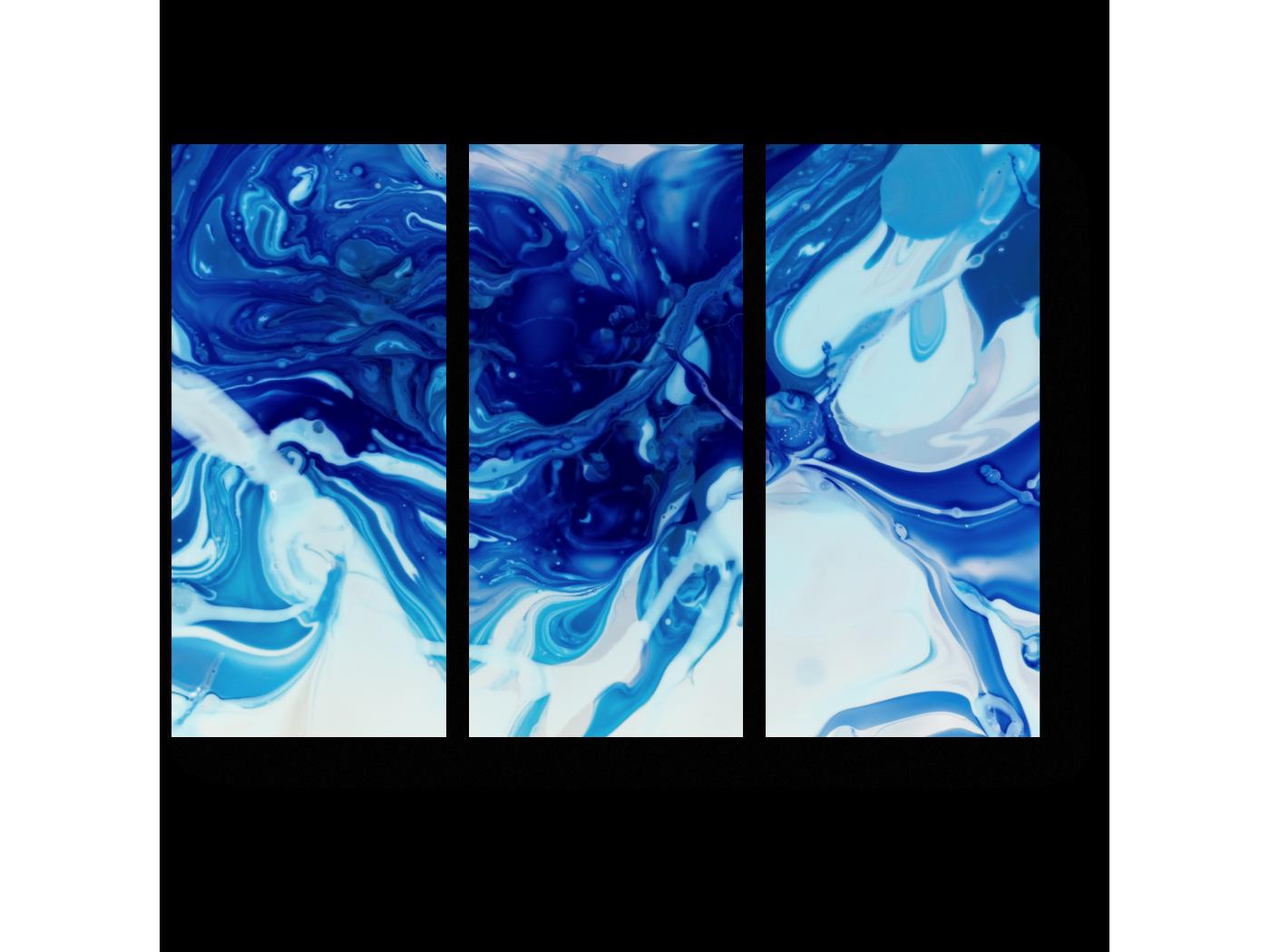Модульная картина Текучесть и изменчивость (60x43) фото