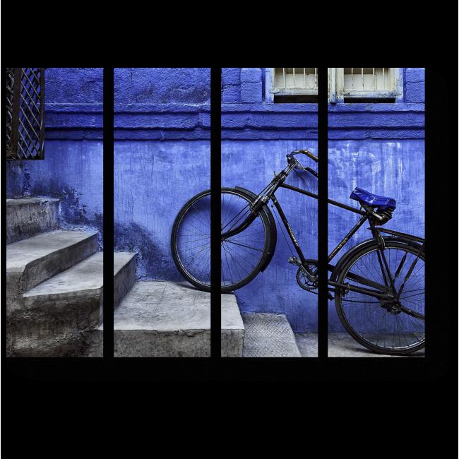 Модульная картина Велосипед в Джодхпуре
