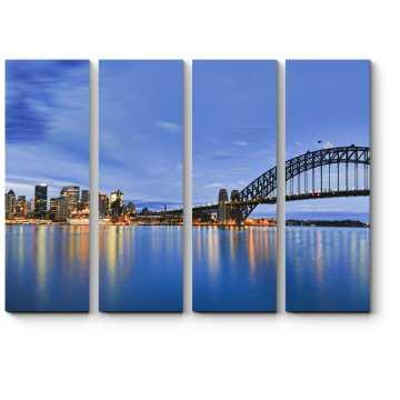 Модульная картина Небоскребы Сиднея