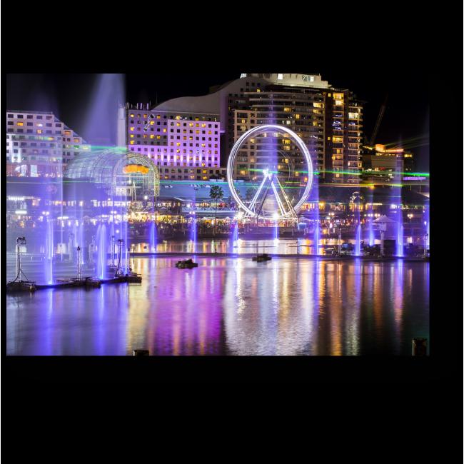 Модульная картина Вечерний Сидней