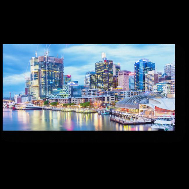 Модульная картина Дарлинг-Харбор в свете огней, Сидней