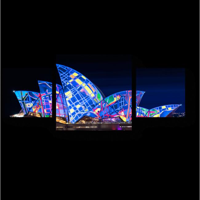 Модульная картина Сиднейский оперный театр