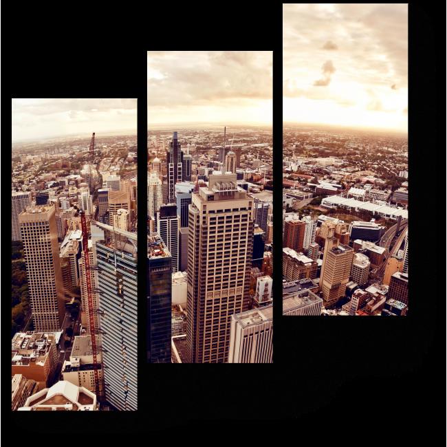 Модульная картина Над небоскребами Сиднея