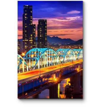 Волшебные краски ночи, Сеул