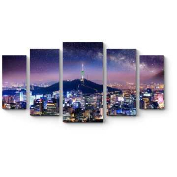 Звездная ночь над Сеулом
