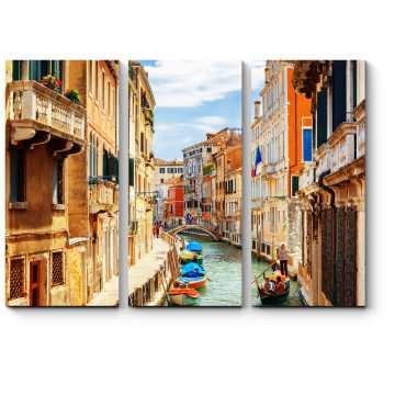 Модульная картина Вид на канал Рио-Марин, Венеция