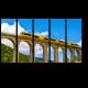 Поезд Jaune на мосту Седжурн