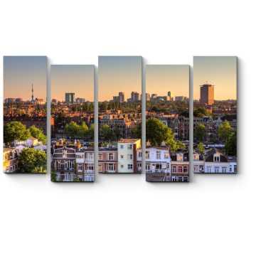 Небоскребы на юге Амстердама