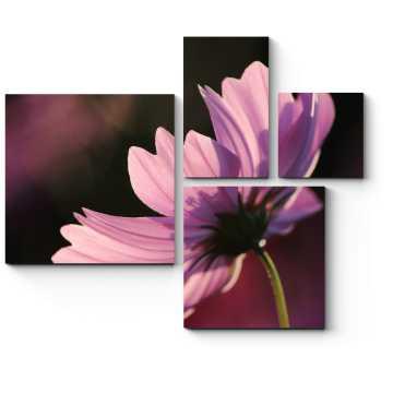 Модульная картина Солнечный цветок