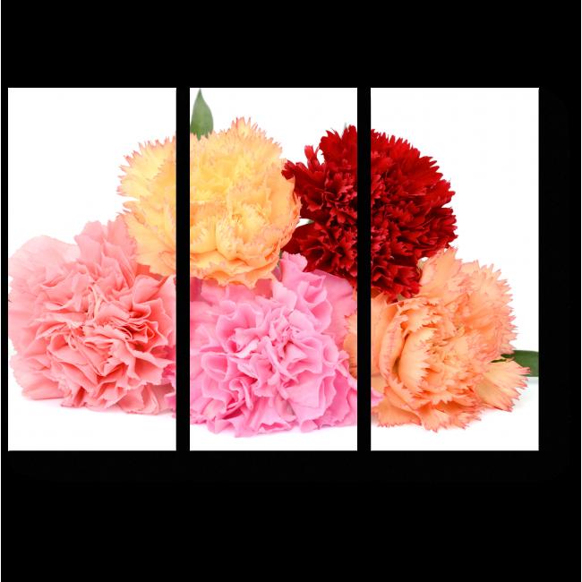 Модульная картина Цветочное счастье