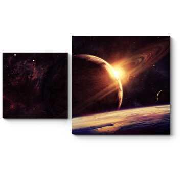 Планеты в пространстве