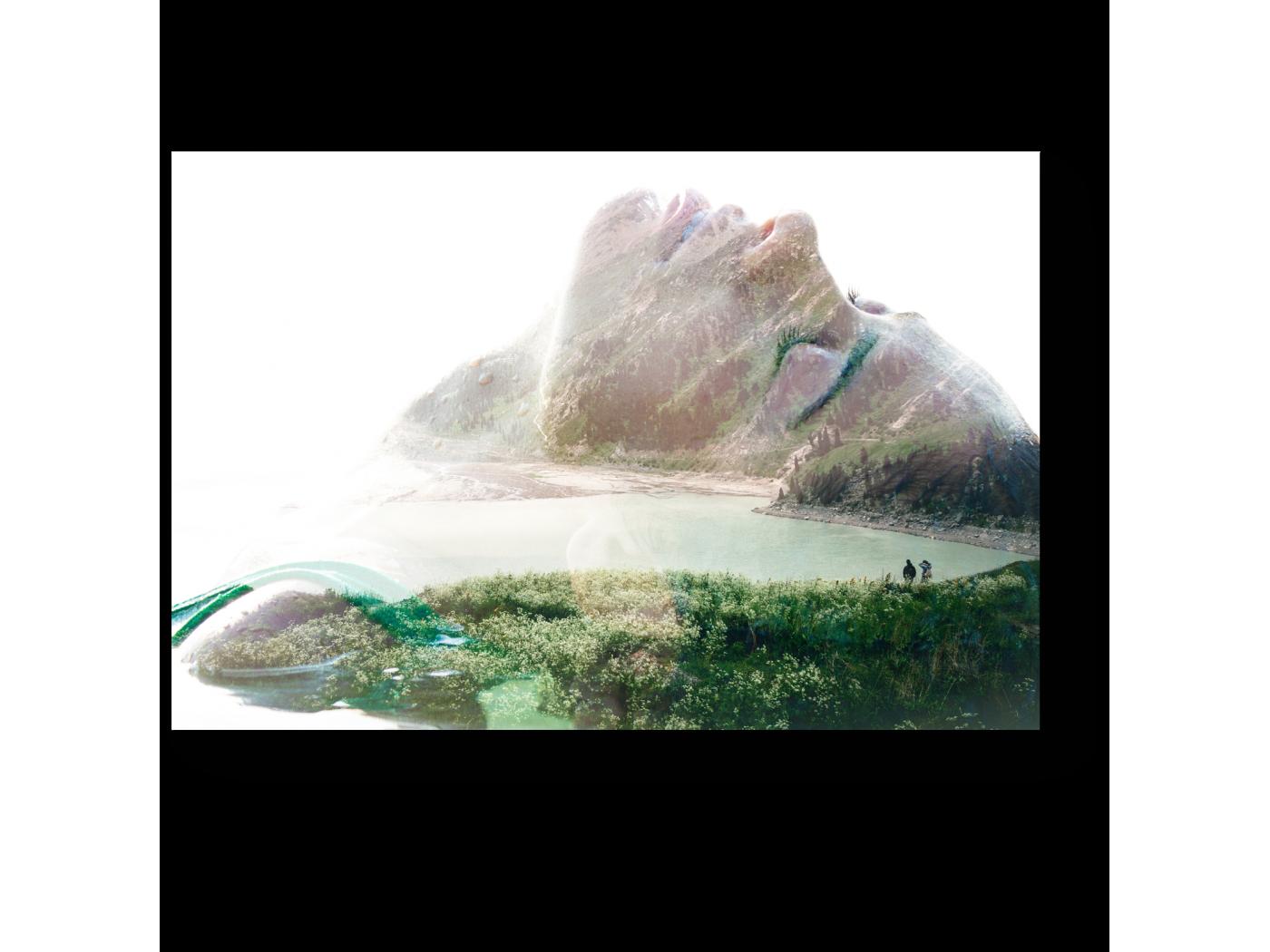 Модульная картина Мечты об уединении (30x20) фото