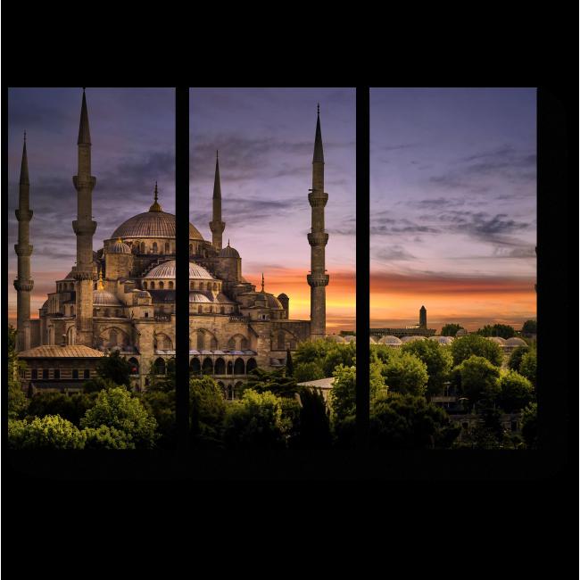 Модульная картина Величественный Стамбул