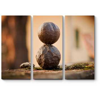 Модульная картина Идеальный баланс