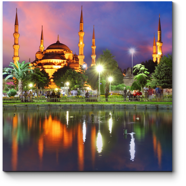 Модульная картина Сказочный Стамбул