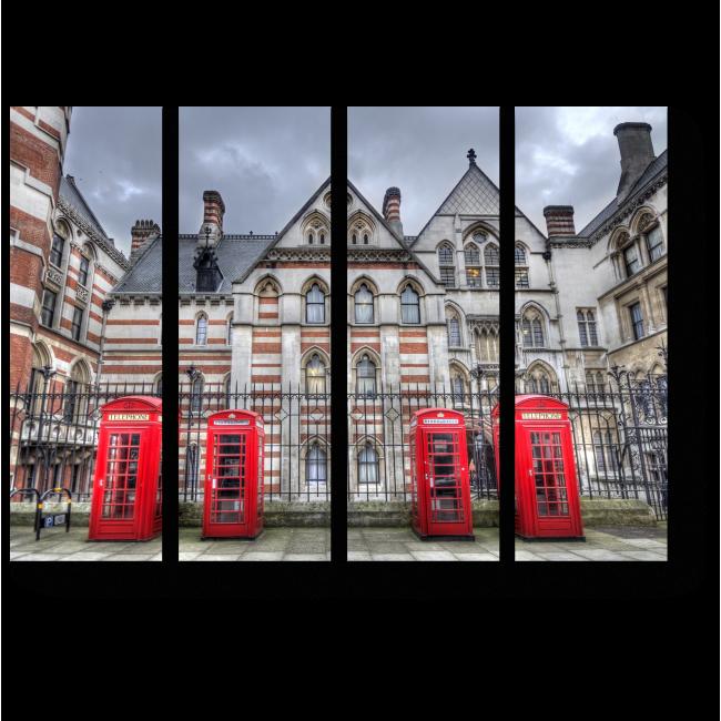Модульная картина Позвони мне из Лондона