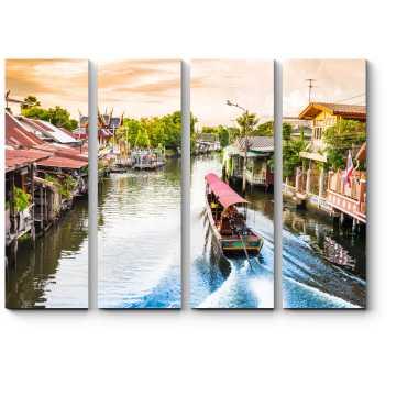 Путешествие по каналам Бангкока