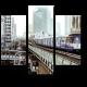 Надземный поезд мчится в центр Бангкока