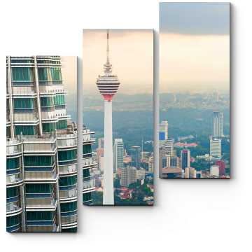 Над крышами Куала-Лумпур