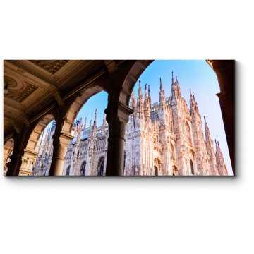 Миланский собор с необычного ракурса
