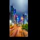 Чудесная панорама ночного Гонконга