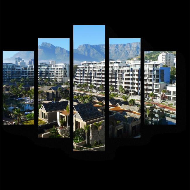 Модульная картина Кейптаун