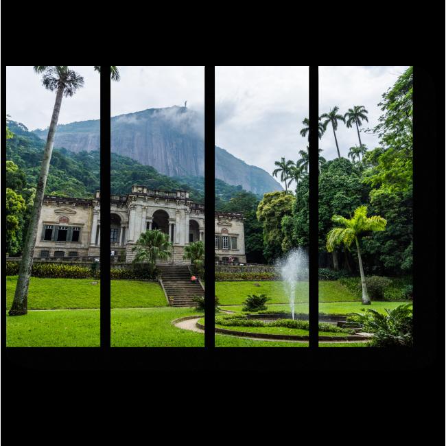 Модульная картина Тропический лес
