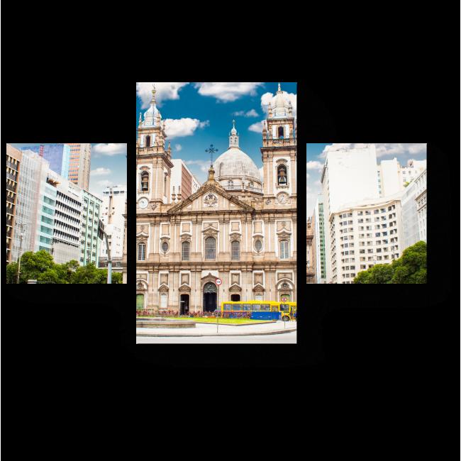 Модульная картина Бразильская архитектура