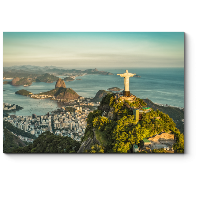 Модульная картина Панорама Рио-де-Жанейро