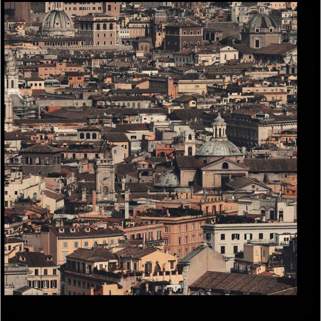 Модульная картина Римская архитектура