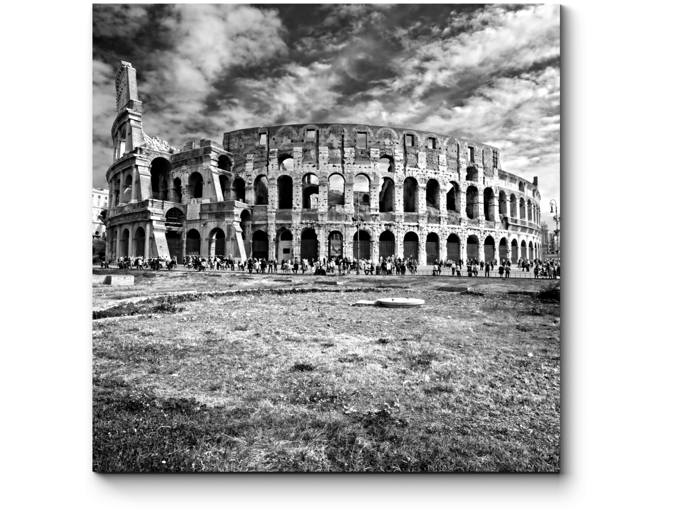 Модульная картина Древний колизей (20x20) фото