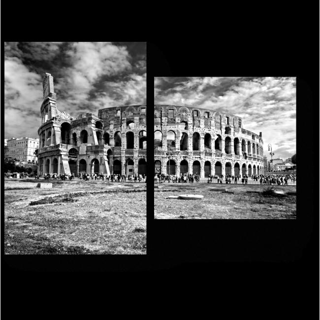 Модульная картина Древний колизей