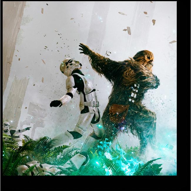 Модульная картина Звездный войны.