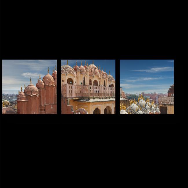 Модульная картина Индийское великолепие