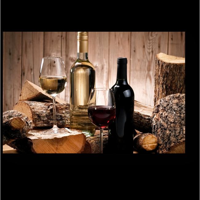 Модульная картина Лучшее вино