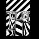 Черно-белая абстракция