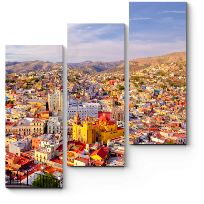 Модульная картина Сердце Мексики
