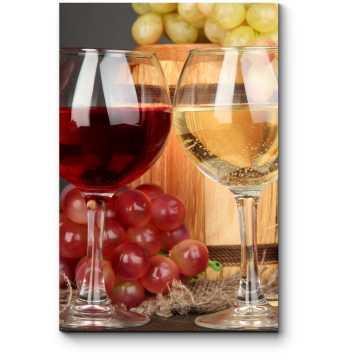 Модульная картина Ароматное вино