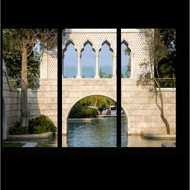 Модульная картина Венецианская арка