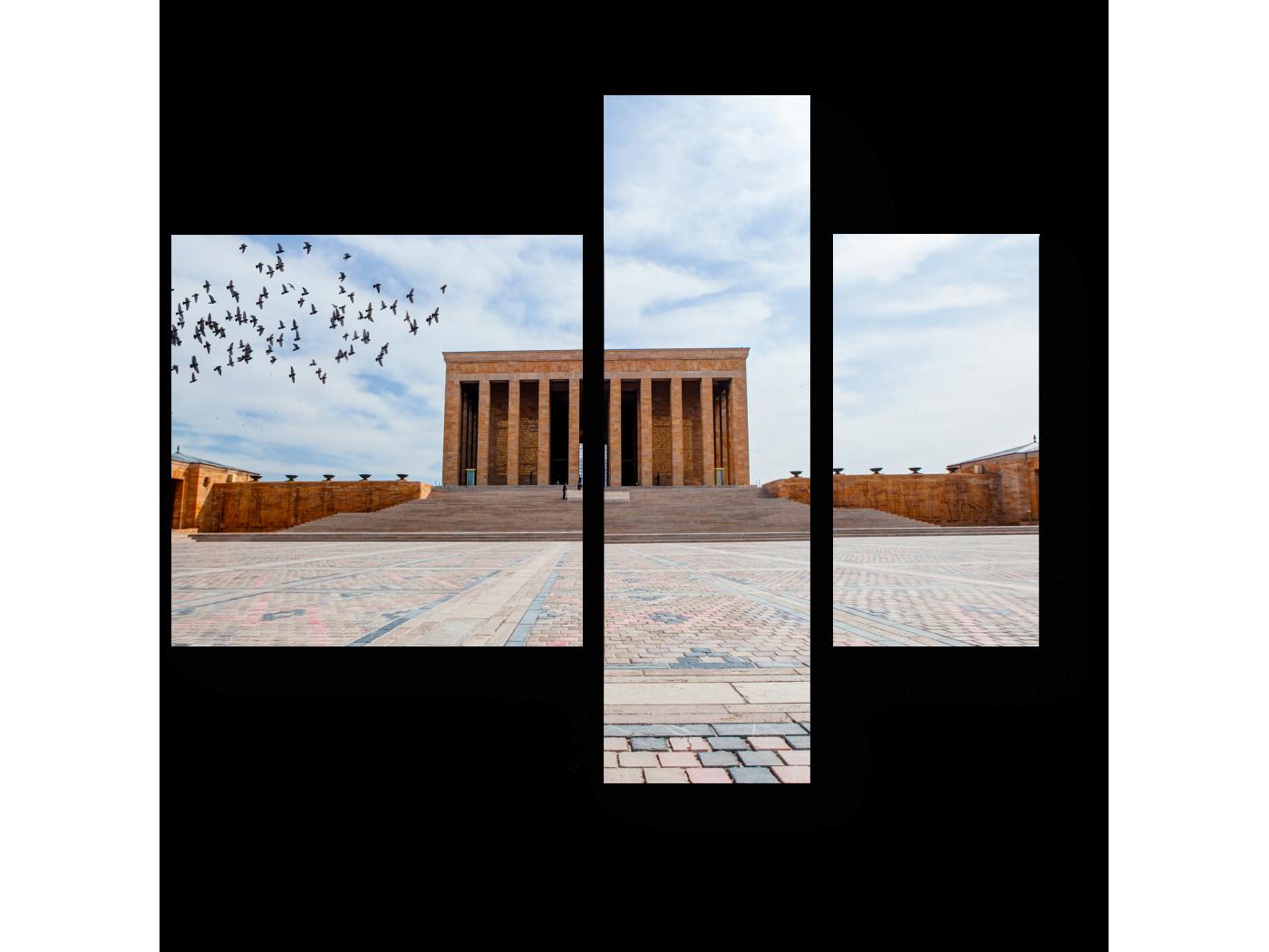 Модульная картина Мавзолей Ататюрка (80x66) фото