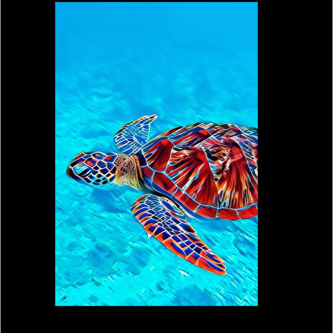 Модульная картина На дне океана