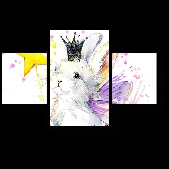 Модульная картина Заячья фея