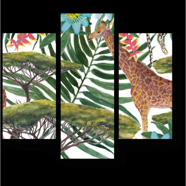 Модульная картина В тропиках