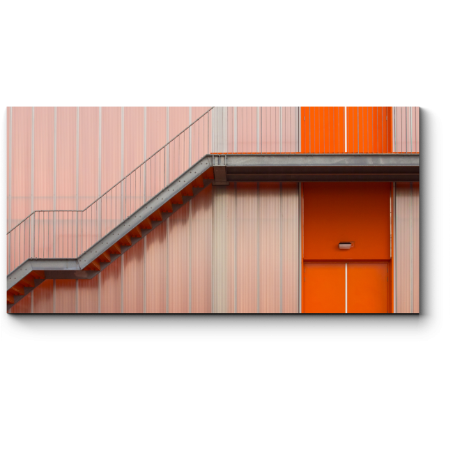 Модульная картина Лестница на здании