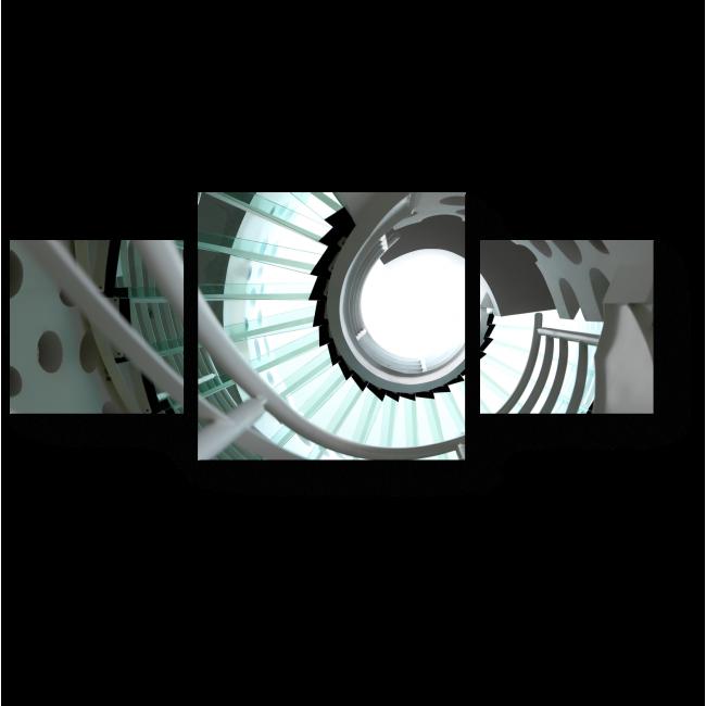 Модульная картина Витая лестница