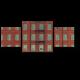 Красное здание с лестницей