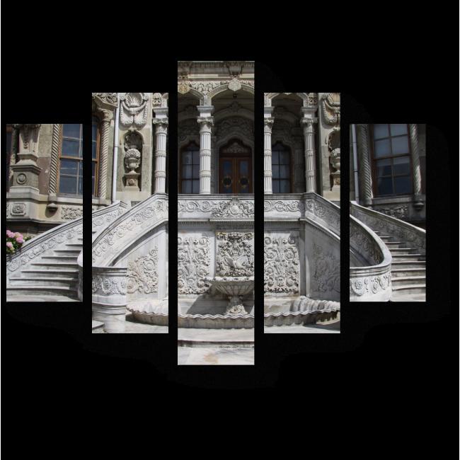 Модульная картина Лестница во дворец