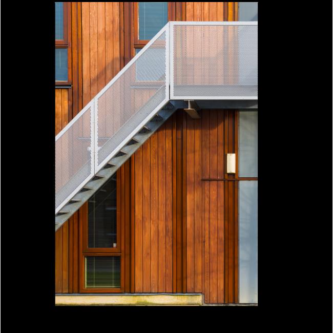 Модульная картина Современный фасад