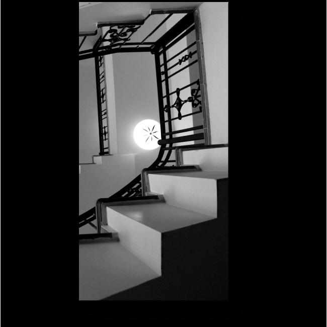 Модульная картина Лестница к верху
