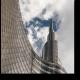 Современные небоскребы на фоне неба